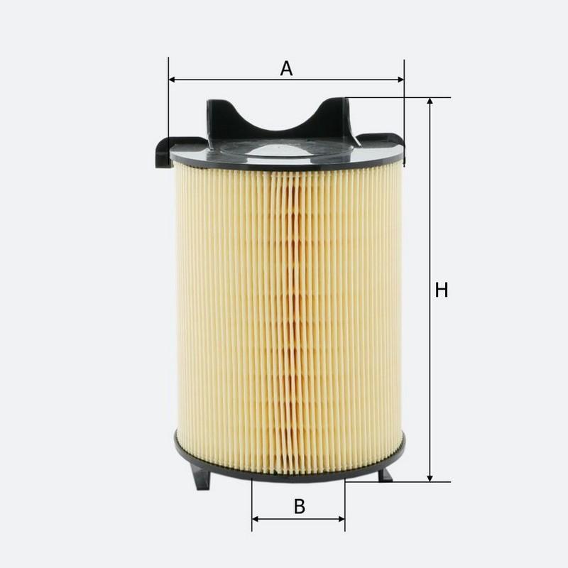 Воздушный фильтр MOLDER (LF1456)