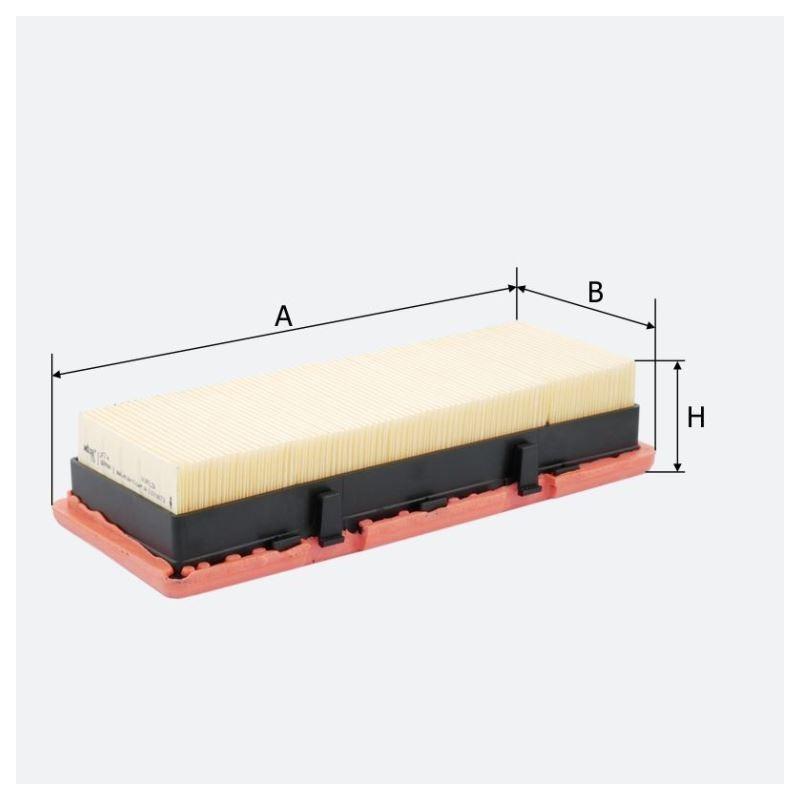 Воздушный фильтр MOLDER аналог WA6375/LX824/C2771 (LF714)