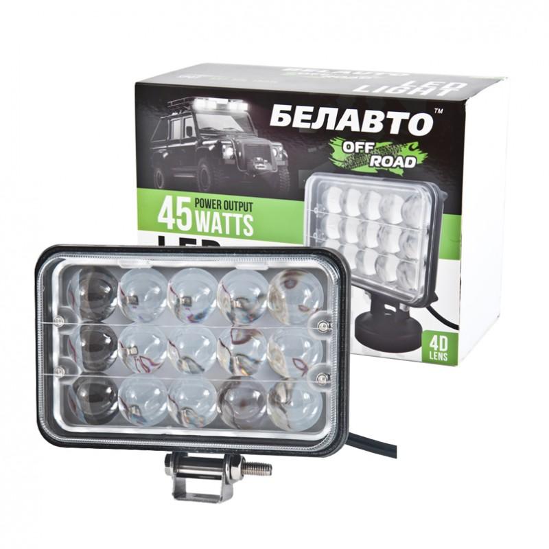 Доп LED фара BELAUTO BOL1503L 3000Лм (точечный)