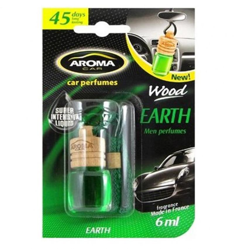 Ароматизатор Aroma Car Wood Earth Земля