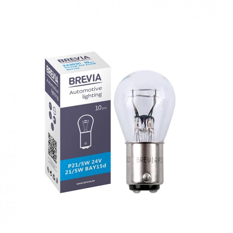 Галогеновая лампа Brevia P21/5W 24V 21/5W 24303C