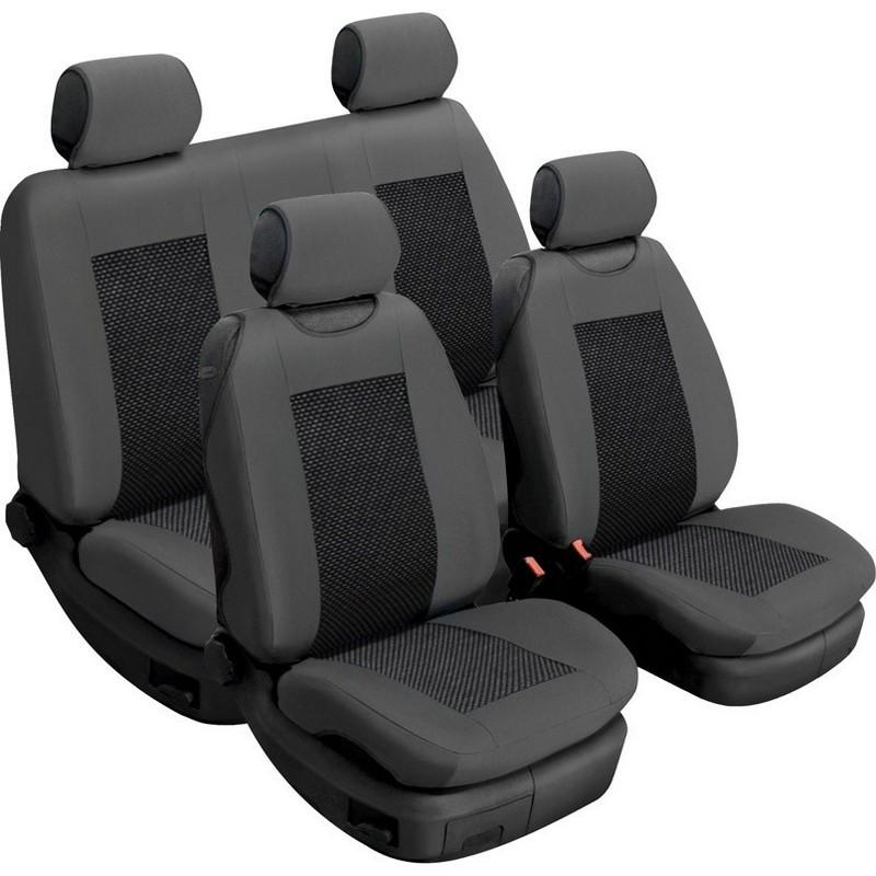 Авточехлы универсальные Beltex Comfort комплект графит без подголовников 52310