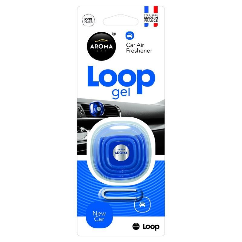 Ароматизатор Aroma Car Loop Gel New Car Новая машина