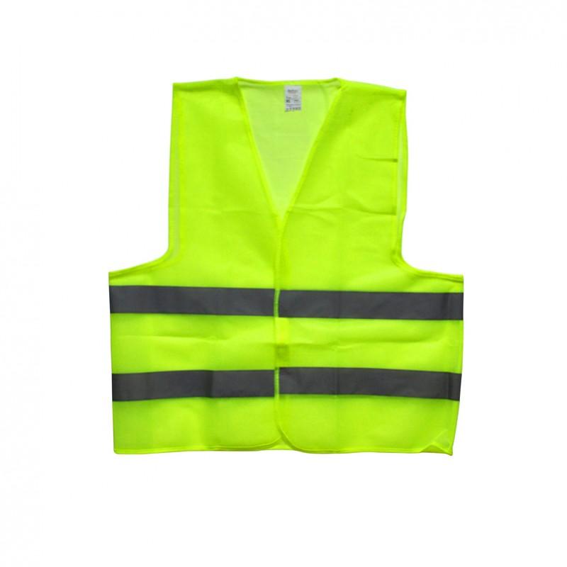 Сигнальный жилет зелёный, XL, 100 gr/m2
