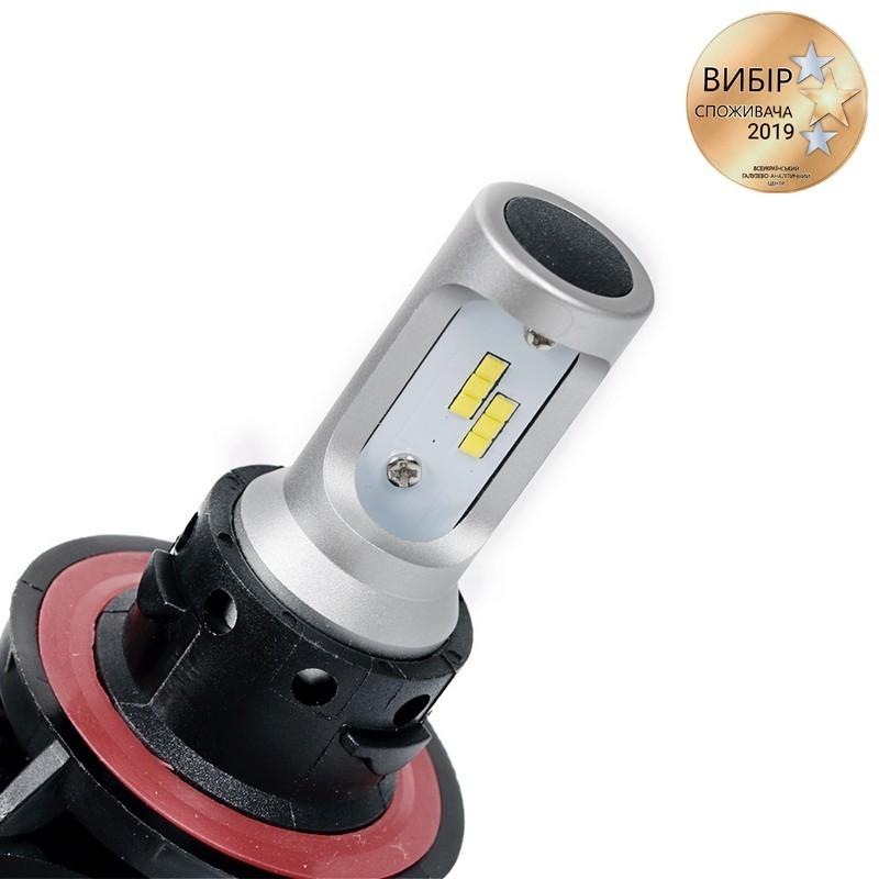 Светодиодные автолампы H13 CARLAMP Night Vision Led для авто 4000 Lm 6000 K (NVH13)
