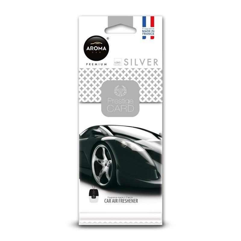 Ароматизатор Aroma Car Prestige Card Silver