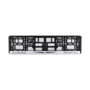 Рамка номера CarLife для Merсedes-Benz черный пласик (NH141)