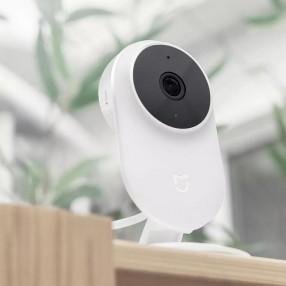 IP камера видеонаблюдения Xiaomi Mijia 1080р с углом обзора 130гр и соединением Wi-Fi 2.4GHz 20 fbps (23878)