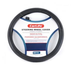 Чехол на руль CARLIFE XL (41-43см) черный SW114XL