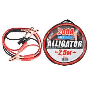Пусковые провода ALLIGATOR BC622 CarLife 200A 2,5м сумка