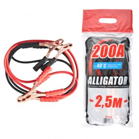 Пусковые провода ALLIGATOR BC623 CarLife 200A 2,5м пакет