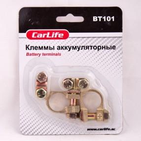 Клеммы АКБ CARLIFE BT101 цинк латунное покрытие