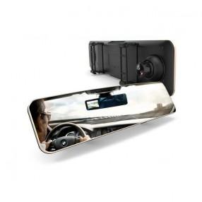 Видеорегистратор-зеркало с дополнительной камерой заднего вида REMAX Black (CX-03)