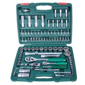 Набор торцевых головок HANS 1/4 дюйма DR4-14 мм и 1/2 дюйма DR10-32 мм 94 предмета TK-94 (3)