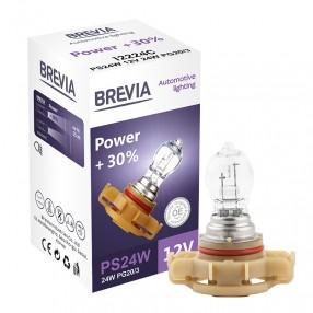 Brevia PS24W 12V 24W PG20/3 Power +30% CP