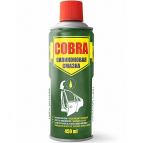 Универсальная силиконовая смазка (спрей) Cobra 450мл NX45200