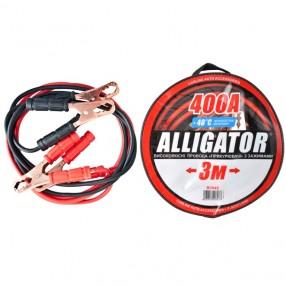 Пусковые провода ALLIGATOR BC643 CarLife 400A 3м сумка