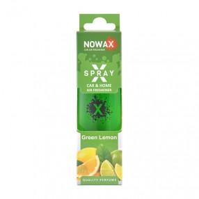 Ароматизатор Green lemon 50мл с распылителем NOWAX X Spray (NX07608)