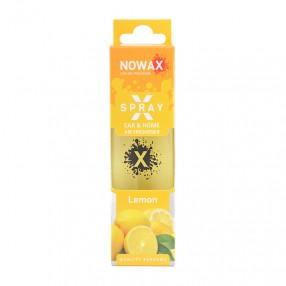 Ароматизатор Lemon 50мл с распылителем NOWAX X Spray (NX07601)