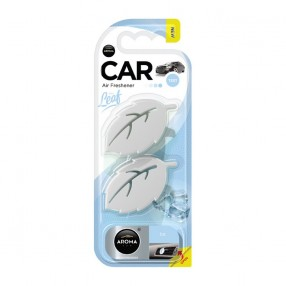 Ароматизатор на дефлектор Aroma Car Leaf 3D Mini Ice Лед (83133)