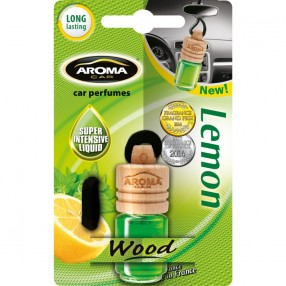 Ароматизатор Aroma Car Wood Lemon Лимон