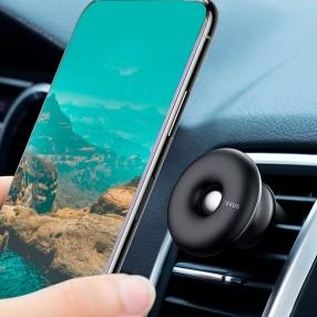 Автодержатель для телефона Baseus Star Ring Magnetic Car Bracket Air Outlet Version Black (SUHQ-01)