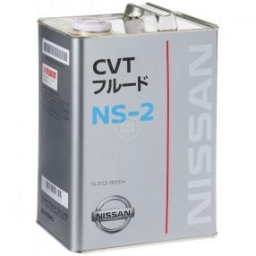 Трансмиссионное масло Nissan CVT NS-2 4 литра KLE52-00004