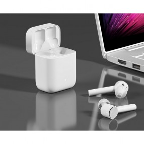 Наушники беспроводные Xiaomi Mi Air 10ч Bluetooth 4.2 10 м влагозащита IPX4 True Wireless (22769)