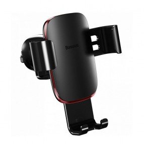 Держатель для телефона Baseus Metal Age Gravity Car Mount Air Outlet Version (black) (21739Bk)