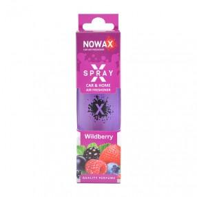 Ароматизатор Wildberry 50мл с распылителем NOWAX X Spray (NX07604)
