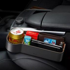 Автомобильный органайзер Baseus Elegant Car Storage Box коричневый (CRCWH-08)