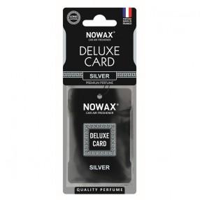 Ароматизатор целлюлозный 6 г Nowax серія Delux Card Silver (NX07732)