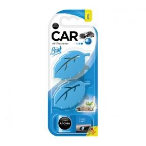 Ароматизатор на дефлектор Aroma Car Leaf 3D Mini Fresh Linen (83132)