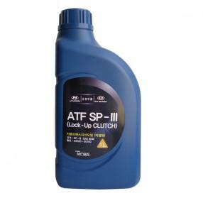 Трансмиссионное масло Mobis Hyundai ATF SP-III 1 литр 04500-00100