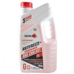 Антифриз NOWAX G12 концентрат красный 5 кг (NX05004)