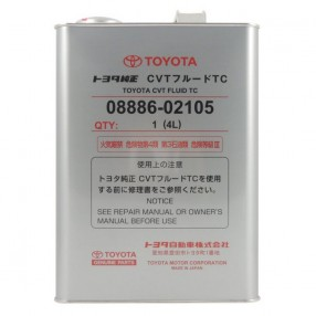 Трансмиссионное масло Toyota CVT Fluid TC 4 литра 08886-02105