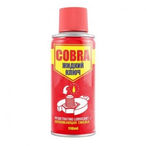 Жидкий ключ (спрей) COBRA 110мл Nowax Проникающая смазка (NX11300)