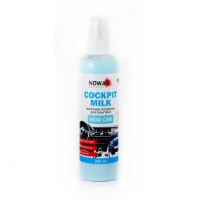 Молочко-полироль для пластика NOWAX NX25228 Black Cockpit Milk New Car 250мл