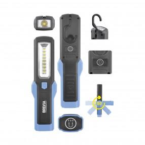 Лампа инсп. Brevia LED 8SMD+1W LED 300lm, 3xAA