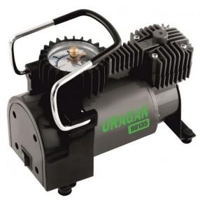Автомобильный компрессор Uragan однопоршневой 37 л/мин с автостопом 90135