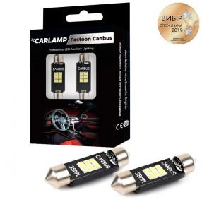 Светодиодные автолампы CARLAMP Canbus Софитка Т11x39 мм (SJ-K6-39мм)