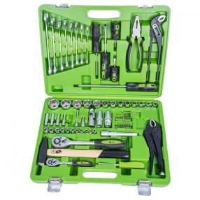 Универсальный набор инструментов Alloid 1/2 и 1/4 дюйма с 72 предметами НГ-4072П (3)