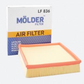 Фильтр воздушный MOLDER LF836 (аналог WA6621/LX946/C27181)