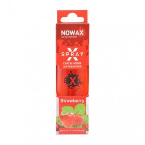 Ароматизатор Strawberry 50мл с распылителем NOWAX X Spray (NX07593)