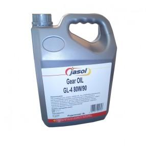 Трансмиссионное масло Jasol GL-4 80W-90 5 литров