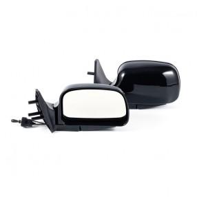 Боковые зеркала CarLife для ВАЗ 2108, 09, 099, 13, 14, 15 черные сферические антиблик 2 шт (VM910)