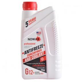 Антифриз NOWAX G12 концентрат красный 1 кг (NX01009)