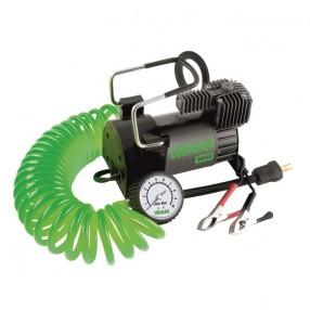 Автомобильный компрессор Uragan однопоршневой 40 л/мин на клеммы АКБ 90140