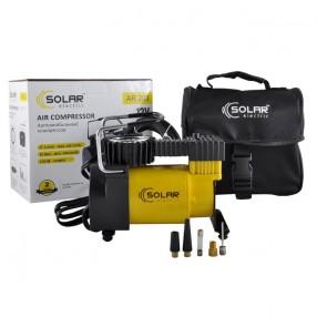 Автомобильный компрессор Solar однопоршневой 37 л/мин 12В AR203