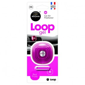 Ароматизатор Aroma Car Loop Gel Red Fruits Красные фрукты